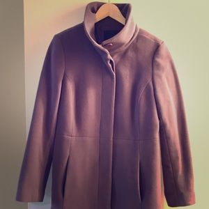 Light Purple Car Coat from Talbots